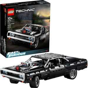 LEGO - Technic Fast & Furious Dom's Dodge Charger 42111 Race Car Building Set (1,077 Pieces)