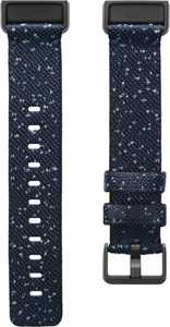 Polyester Small Watch Strap for Fitbit Charge 4 - Midnight