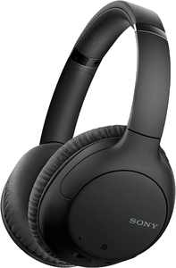 Sony - WH-CH710N Wireless Noise-Cancelling Over-the-Ear Headphones - Black