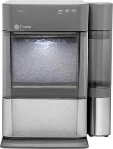 GE Profile - Opal 2.0 24-lb. Portable Ice maker with Nugget Ice Production and WiFi - Stainless steel