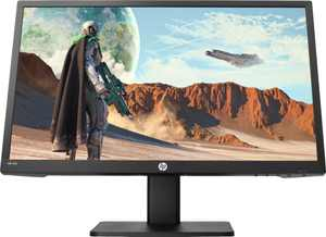 "HP - 21.5"" LED FHD FreeSync Monitor (HDMI, VGA) - Black"