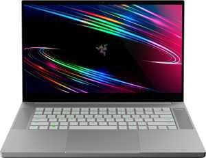 """Razer Blade 15 Base - 15.6"""" 4K OLED Gaming Laptop - Intel Core i7 - NVIDIA GeForce RTX 2070 - 512GB SSD - 16GB Memory - Mercury White"""
