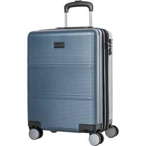 "Bugatti - Brussels 22"" Expandable Suitcase - Steel Blue"