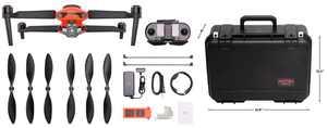 Autel Robotics - EVO II PRO 6K Rugged Bundle Drone - Orange