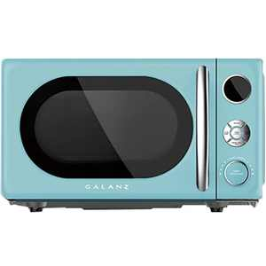 Galanz - Retro 0.7 Cu. Ft. Microwave - Bebop Blue