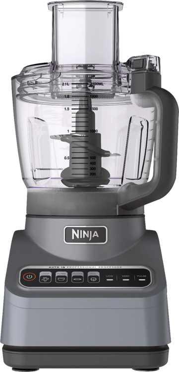 Ninja - Ninja Professional 9-Cup Food Processor - Silver