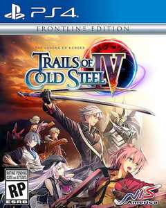 The Legend of Heroes: Trails of Cold Steel IV Frontline Edition - PlayStation 4, PlayStation 5