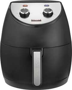 Bella Pro Series - 4.2-qt. Analog Air Fryer - Black Matte