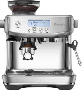 Breville - the Barista Pro Espresso Machine with 15 bars of pressure, Milk Frother and intergrated grinder - Brushed Stanless Steel