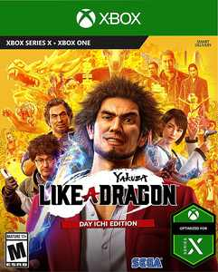Yakuza: Like a Dragon - Xbox One, Xbox Series X