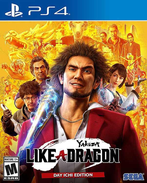 Yakuza: Like a Dragon - PlayStation 4, PlayStation 5