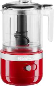 KitchenAid - 5 Cup Cordless Rechargeable Chopper - Empire Red