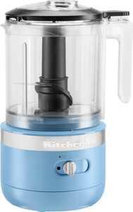 KitchenAid - 5 Cup Cordless Rechargeable Chopper - Blue Velvet