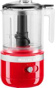 KitchenAid - 5 Cup Cordless Rechargeable Chopper - Passion Red
