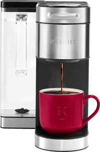 Keurig - K-Supreme Plus Coffee Maker - Stainless Steel
