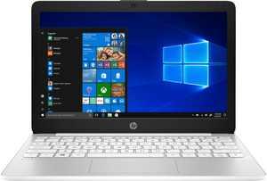 """HP - Stream 11.6"""" Laptop - Intel Celeron - 4GB Memory - 64GB eMMC Flash Memory - Diamond White"""