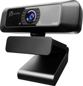 j5create - USB HD Webcam with 360° Rotation - Black