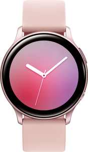Samsung - Geek Squad Certified Refurbished Galaxy Watch Active2 Smartwatch 40mm Aluminum - Pink Gold