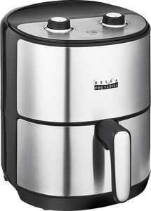 Bella Pro Series - 4.3-qt. Analog Air Fryer - Stainless Steel