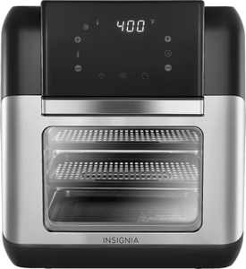 Insignia - 10 Qt. Digital Air Fryer Oven - Stainless Steel