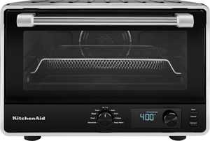 KitchenAid - Digital Countertop Oven with Air Fry - Black Matte
