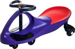 Lil Rider - Ride-On Wiggle Car - Purple/Red