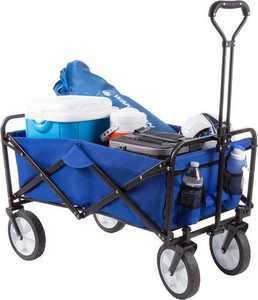Wakeman - Folding Utility Cart - Royal Blue