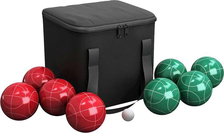 Hey! Play! - Bocce Ball Set - Red/Green
