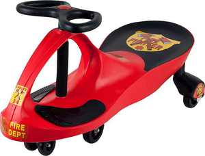Lil Rider - Ride-On Wiggle Car - Fire Truck Red