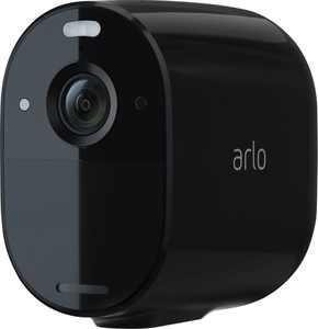 Arlo - Essential Spotlight Camera – Indoor/Outdoor Wire-Free 1080p Security Camera - Black