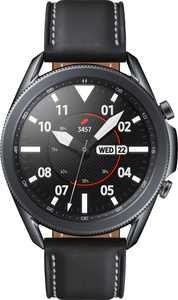 Samsung - Galaxy Watch3 Smartwatch 45mm Stainless BT - Mystic Black