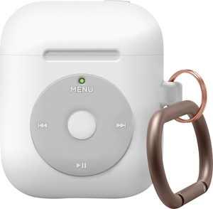 Elago - AW6 Hang Case for Apple AirPods - White