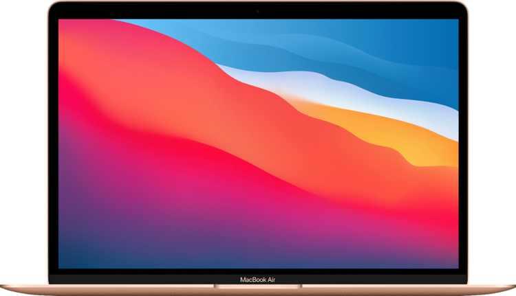 "MacBook Air 13.3"" Laptop - Apple M1 chip - 8GB Memory - 256GB SSD (Latest Model) - Gold"