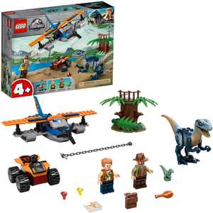 LEGO Jurassic World Velociraptor: Biplane Rescue Mission 75942