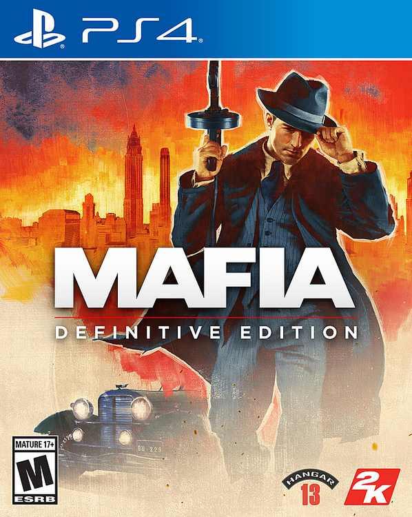 Mafia Definitive Edition - PlayStation 4, PlayStation 5