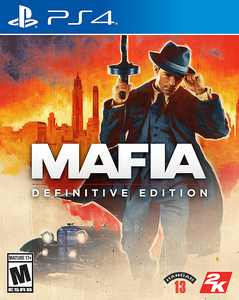 Mafia Definitive Edition - PlayStation 4, PlayStation 5