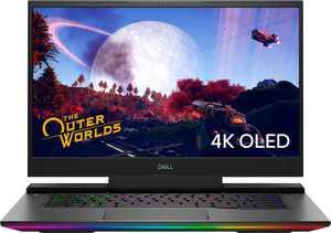 "Dell - G7 15.6"" 4K Gaming Laptop - OLED - Intel Core i7 - 16GB Memory - NVIDIA GEFORCE RTX 2070MQ - 1TB SSD - 4-Zone RGB - Black"