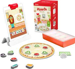 Osmo - Pizza Co. Starter Kit for iPad - Ages 5-12 - Communication & Money Skills, Business Math (Osmo Base Included)
