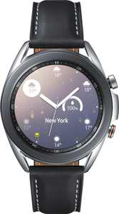 Samsung - Galaxy Watch3 Smartwatch 41mm Stainless LTE - Mystic Silver