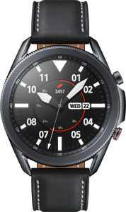 Samsung - Galaxy Watch3 Smartwatch 45mm Stainless LTE - Mystic Black