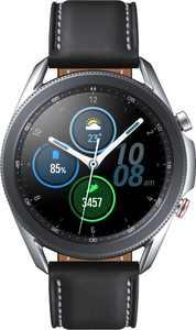 Samsung - Galaxy Watch3 Smartwatch 45mm Stainless LTE - Mystic Silver