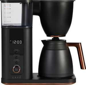 Café - Drip 10-Cup Coffee Maker with WiFi - Matte Black