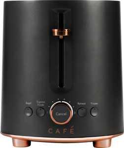 Café - Specialty 2-Slice Toaster - Matte Black