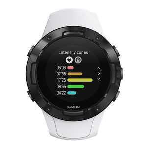SUUNTO - 5 Sports Tracking watch with GPS & Heart Rate - White/Black