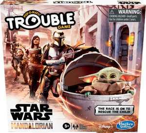 Hasbro Gaming - Trouble: Star Wars The Mandalorian Edition