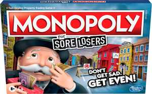 Hasbro Gaming - Monopoly For Sore Losers