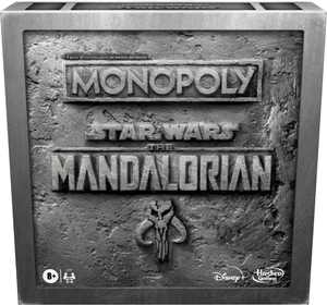 "Hasbro Gaming - Monopoly: Star Wars The Mandalorian Edition Board Game Protect The Child (""Baby Yoda"")"