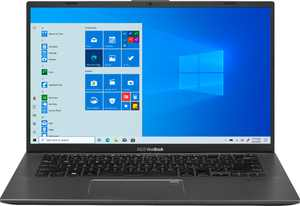 "ASUS - Vivobook 14"" Laptop - Intel Core i7 - 8GB Memory - NVIDIA GeForce MX250 - 512GB SSD - Slate Grey - Gray"