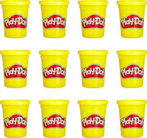 Play-Doh Bulk 12-Pack of Yellow Non-Toxic Modeling Compound, 4-Ounce Cans
