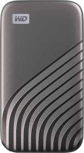 WD - My Passport 500GB External USB Type-C Portable Solid State Drive - Space Gray